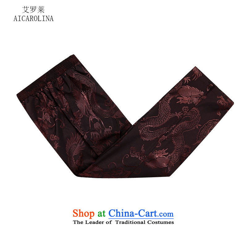Hiv Rollet autumn and winter in the new liberal older men Tang Dynasty Package Men long-sleeved Tang dynasty coffee Color Kit聽, M, HIV (AICAROLINA ROLLET) , , , shopping on the Internet