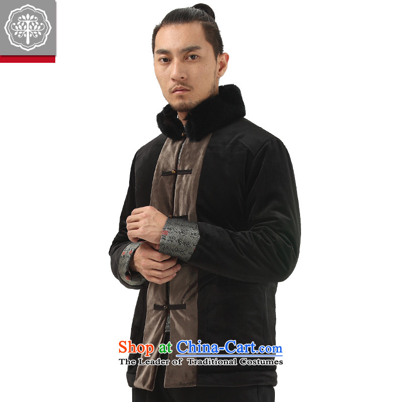 To Tree China wind and improved Han-Tang Dynasty Chinese men thick cotton coat fuyuo ?t��a Hyun-seok-color