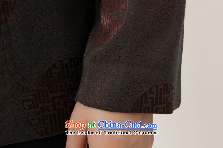 The elderly in the Arthur Min Tang dynasty China wind collar dress too Shou Yi wedding services will Chinese male Tang jackets wine red聽XXL picture, prices, brand platters! The elections are supplied in the national character of distribution, so action, buy now enjoy more preferential! As soon as possible.