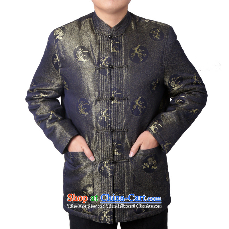 Sureyou men China wind national costume China wind men casual attire in Tang older autumn and winter new Tang dynasty 14018聽170, the British-see green (sureyou) , , , shopping on the Internet