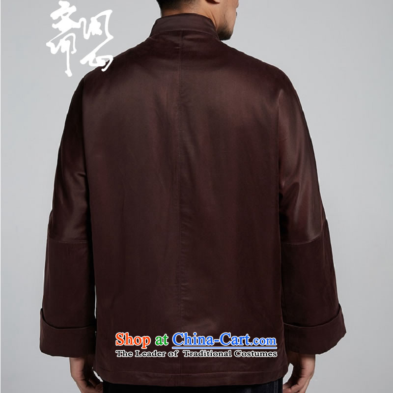 Q Shinsaibashi represented a health (New) Men's men upscale Tang dynasty autumn and winter coats WXZ1108 robe and coffee lounge XXL, color with Ramadan , , , shopping on the Internet