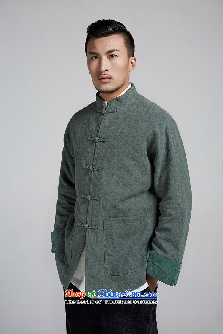 Q Shinsaibashi represented a health (New) Men's men Tang dynasty improved with a color scheme of the sleeve jacket WXZ1106 robe green聽M picture, prices, brand platters! The elections are supplied in the national character of distribution, so action, buy now enjoy more preferential! As soon as possible.