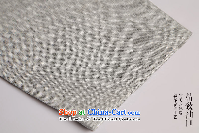 Renowned China wind men cotton linen short-sleeved Tang dynasty improved Tang Dynasty Chinese men of pure colors of ethnic summer blouses m yellow giant (180) Picture, prices, brand platters! The elections are supplied in the national character of distribution, so action, buy now enjoy more preferential! As soon as possible.