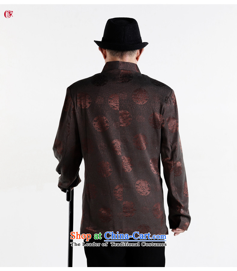 聽The elderly in the Tang dynasty gakka Tang dynasty older men's jackets of older persons and Tang dynasty autumn and winter clothes brown聽L picture, prices, brand platters! The elections are supplied in the national character of distribution, so action, buy now enjoy more preferential! As soon as possible.