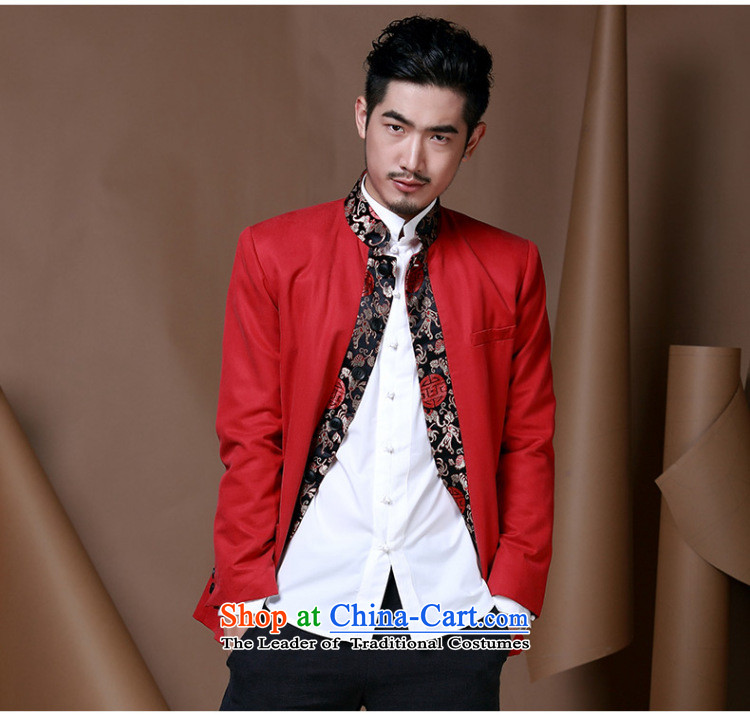 Jockeys Leopard Health China wind men Tang jackets of young men from the Chinese Han-T-shirt national costumes autumn and winter new dresses designer brands red聽XXXL picture, prices, brand platters! The elections are supplied in the national character of distribution, so action, buy now enjoy more preferential! As soon as possible.