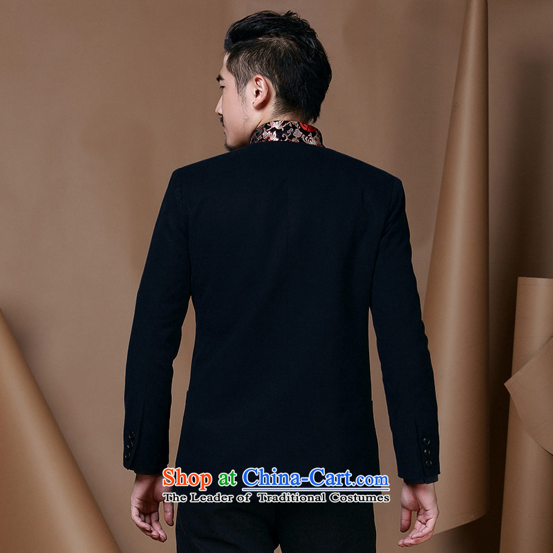 Jockeys Leopard Health China wind men Tang jackets of young men from the Chinese Han-T-shirt national costumes autumn and winter new dresses designer brands聽XXXL, Red Riding Leopard (QIBAOLANG) , , , shopping on the Internet