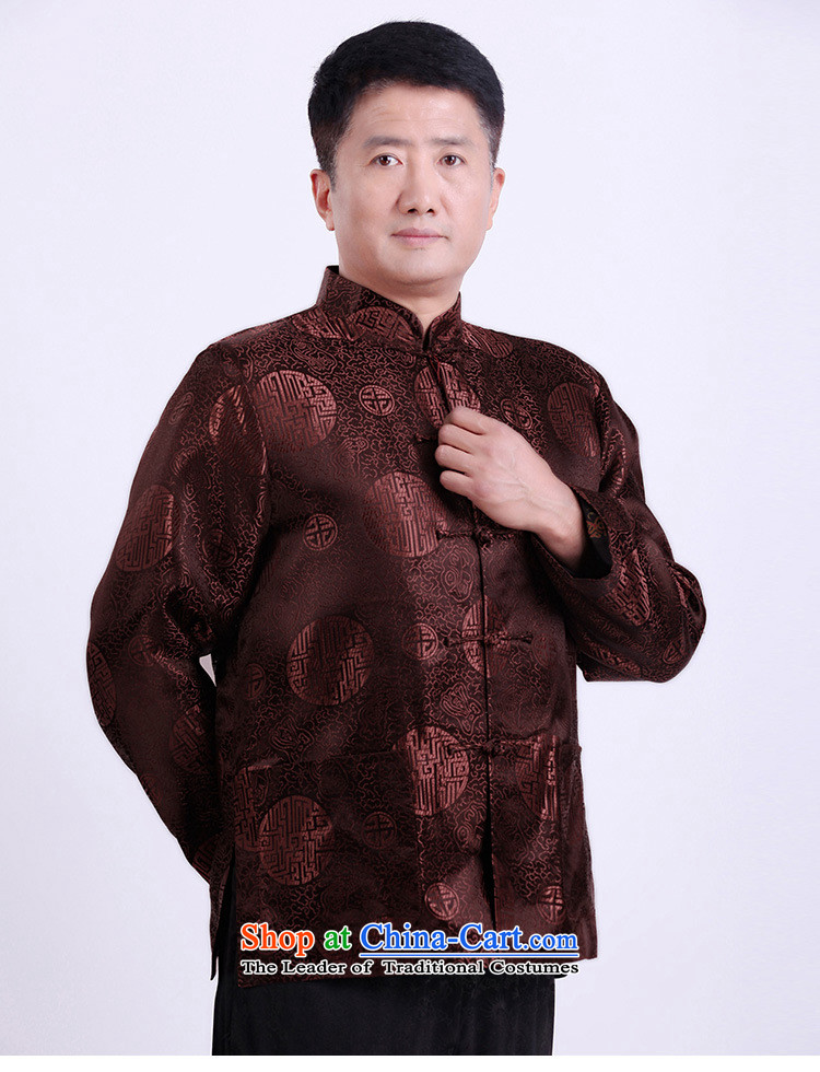 Silver armor in older men Tang Dynasty Large) thin Male Male Male spring loaded Tang winter coats older persons Shou Tang-pack Black聽4XL Photo, prices, brand platters! The elections are supplied in the national character of distribution, so action, buy now enjoy more preferential! As soon as possible.