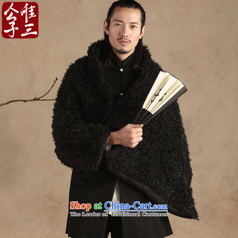Cd 3 Model China wind woolen shawl men sheikhs scarf pashmina shawl Chinese New Hyun triad _L_