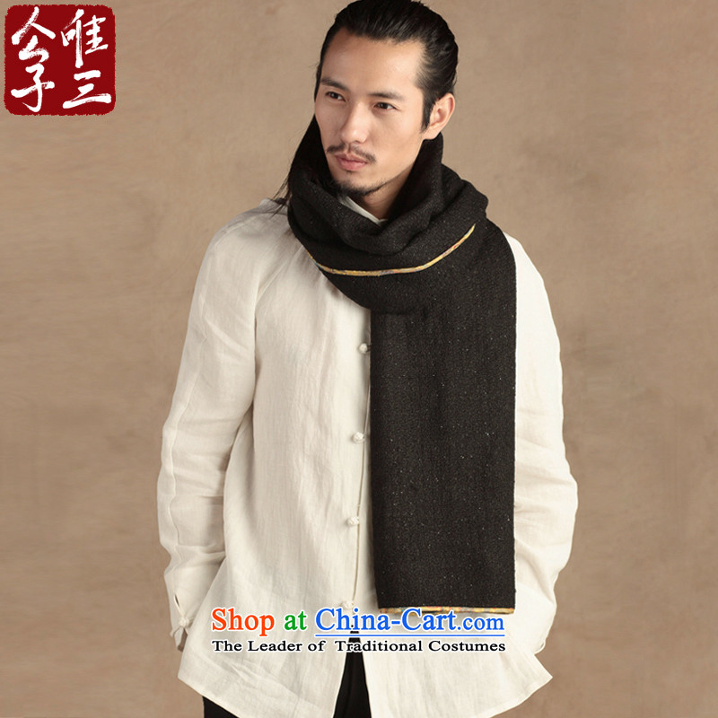 Cd 3 Model China wind wool men scarf Chinese cashmere shawls winter long New Hyun triad (L)