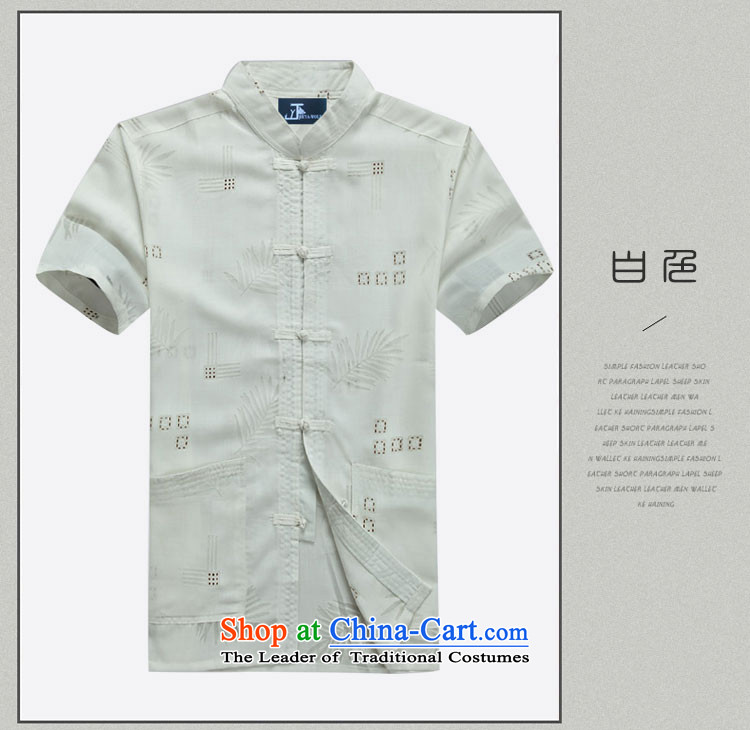 - Wolf JEYA-WOLF, New Tang dynasty men's short-sleeved T-shirt summer fine cotton linen thin, men Tang dynasty, white聽190/XXXL national leisure picture, prices, brand platters! The elections are supplied in the national character of distribution, so action, buy now enjoy more preferential! As soon as possible.