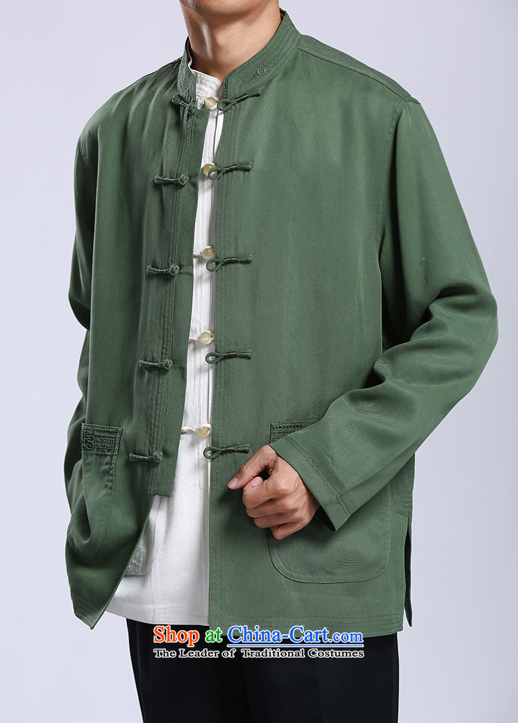 Azzu defense (azouari) tencel men Tang jackets Chinese collar disc detained men Spring Green聽44 pictures, prices, brand platters! The elections are supplied in the national character of distribution, so action, buy now enjoy more preferential! As soon as possible.