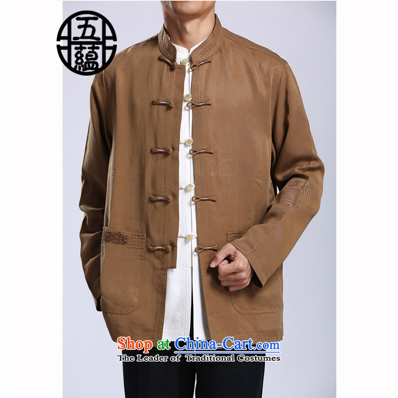 Azzu defense (azouari) tencel men Tang jackets Chinese collar disc detained men Spring Green聽44 (AZOUARI azzu) , , , shopping on the Internet