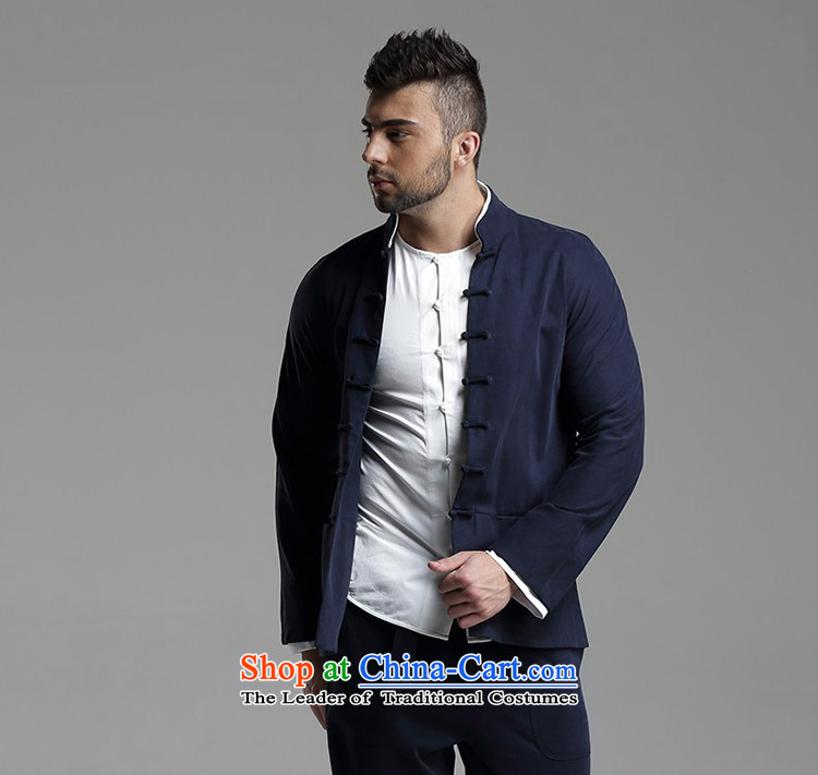 Azzu defense (azouari) China wind Men's Mock-Neck Leisure Tang jacket dark blue聽XL Photo, prices, brand platters! The elections are supplied in the national character of distribution, so action, buy now enjoy more preferential! As soon as possible.
