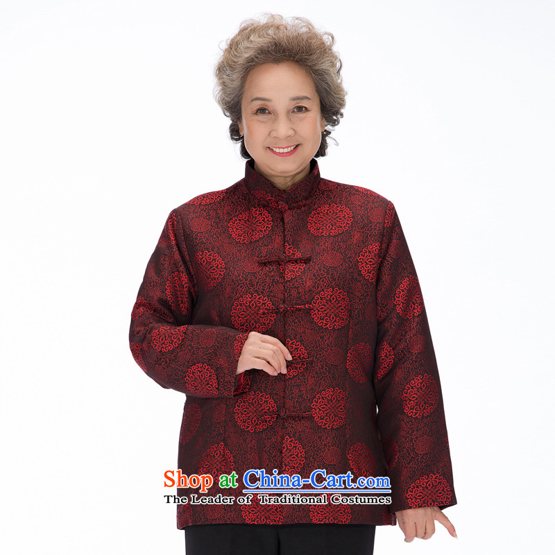 Bosnia and thre national costumes in line of older persons for winter female couple of cotton in the design of the Tang dynasty older ãþòâ winter of the paragraph, couples F2070 men men L/175, thre line (gesaxing and Tobago) , , , shopping on the Internet