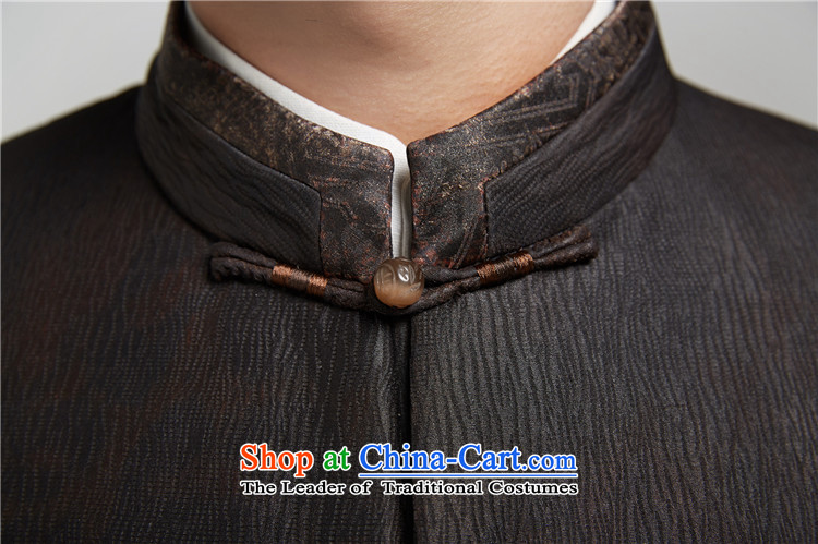 De Fudo Ienti cloud of incense yarn thin robe men Tang jackets Sau San Business Professional upscale China wind of men by 2015 autumn and winter, Black聽46/170 picture, prices, brand platters! The elections are supplied in the national character of distribution, so action, buy now enjoy more preferential! As soon as possible.