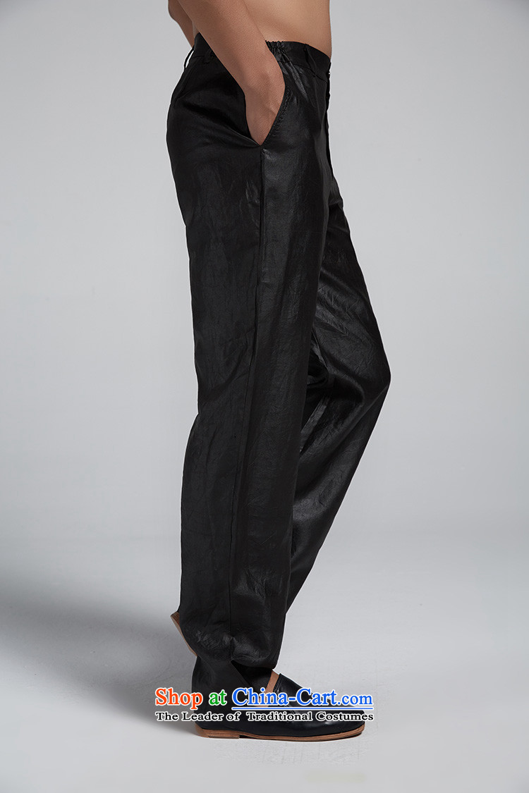 Fudo silk-eun de聽2015 silk yarn Tang dynasty cloud of incense men's trousers, pants is rainy summer loose China wind men brown聽L picture, prices, brand platters! The elections are supplied in the national character of distribution, so action, buy now enjoy more preferential! As soon as possible.