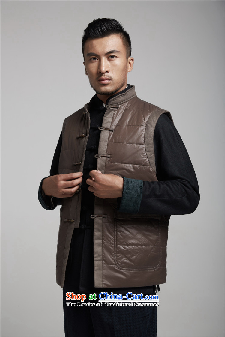 De Fudo Sung-hyun autumn and winter men Tang Gown, a warm jacket thickness of improved style robes Chinese clothing聽XXXL lady pictures, deep price, brand platters! The elections are supplied in the national character of distribution, so action, buy now enjoy more preferential! As soon as possible.