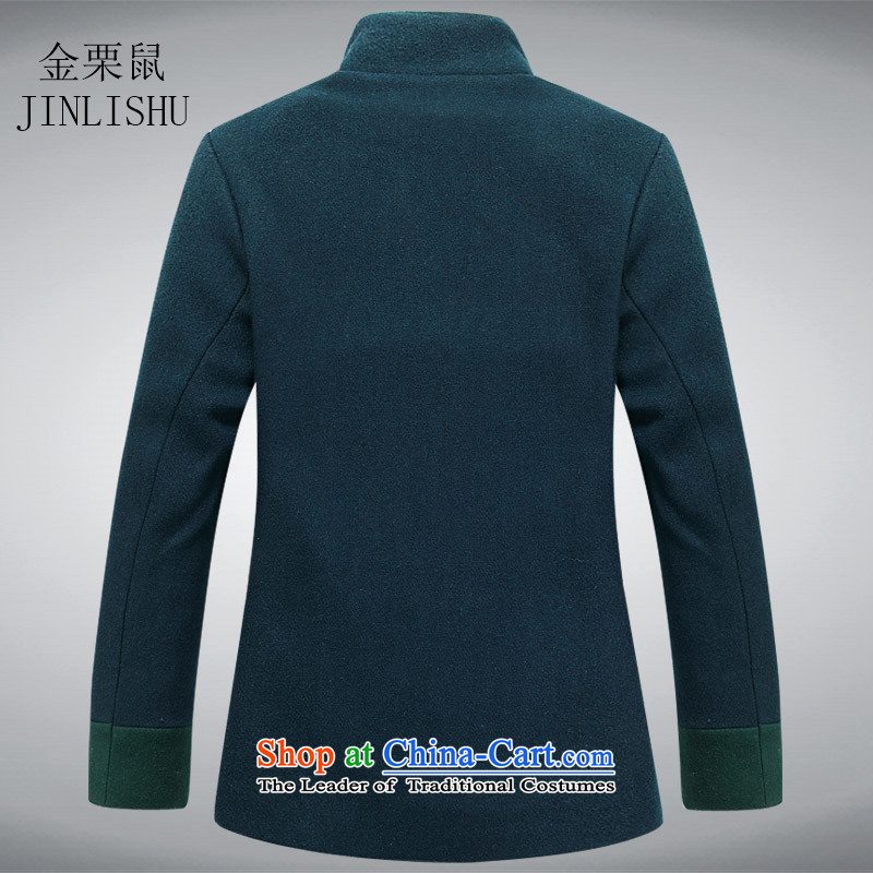 Kanaguri Mouse 2015. Older Women Tang-mounting of older persons so gross jacket coat of older persons Tang dynasty jacket Green聽180, kanaguri mouse (JINLISHU) , , , shopping on the Internet