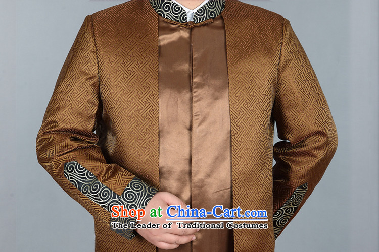 Kanaguri mouse in Tang Dynasty Older long-sleeve sweater with spring and autumn New Men Tang blouses Tang Dynasty Chinese men's jackets and Ho gold聽prices pictures, 190, brand platters! The elections are supplied in the national character of distribution, so action, buy now enjoy more preferential! As soon as possible.