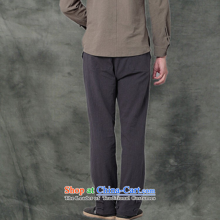Hee-Snapshot Dragon cotton linen MEN CASUAL TROUSERS with a Chinese Kung Fu pants and leisure recreation loose Tang men WhiteM picture, prices, brand platters! The elections are supplied in the national character of distribution, so action, buy now enjoy more preferential! As soon as possible.