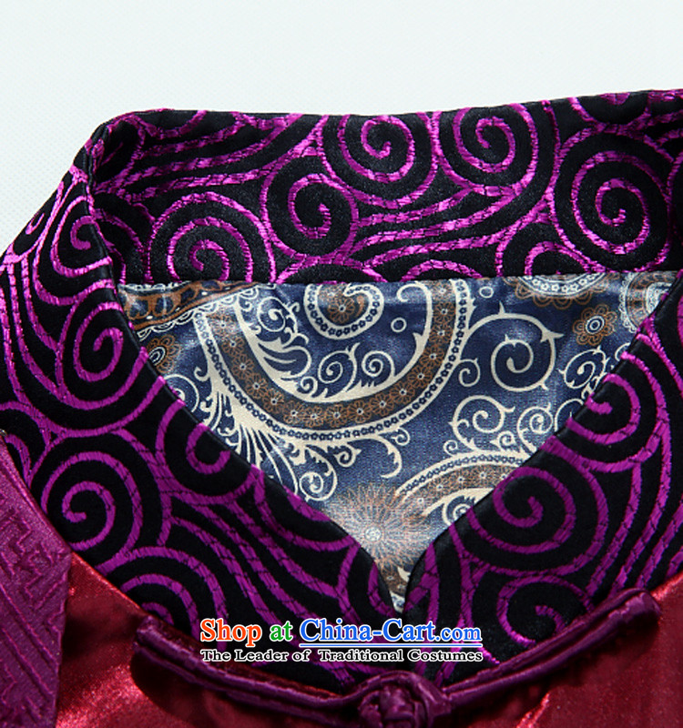 Beijing New products during the spring and autumn and the OSCE Tang dynasty long-sleeved jacket Tang Chinese elderly in the leisure of men purple聽XXXL picture, prices, brand platters! The elections are supplied in the national character of distribution, so action, buy now enjoy more preferential! As soon as possible.