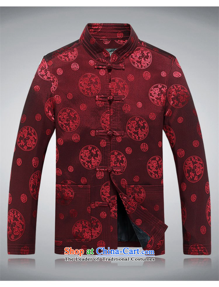 Beijing OSCE men Tang jacket during the Spring and Autumn in New Tang Tang dynasty older men and the elderly in the long round long-sleeved jacket Tang Red XXL picture, prices, brand platters! The elections are supplied in the national character of distribution, so action, buy now enjoy more preferential! As soon as possible.