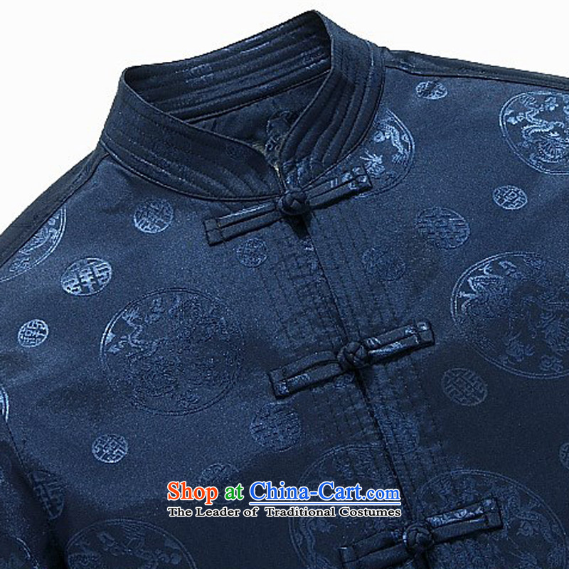 Hiv Rollet Spring New Elderly jacket elderly auspicious Tang jacket jacket blue聽XXL, HIV ROLLET (AICAROLINA) , , , shopping on the Internet