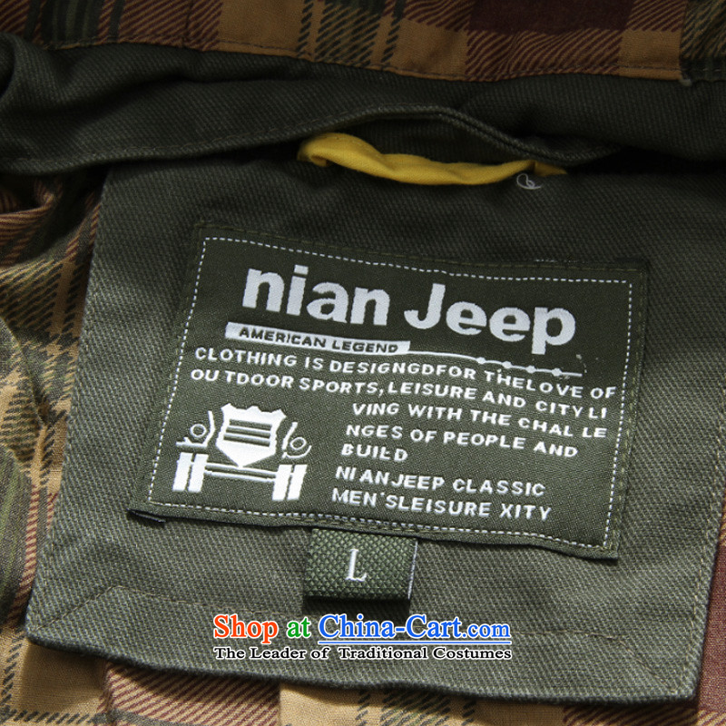 Jeep 2015 men's military Shield Cap washable comfortable jacket D6806聽XXXL, Army green Roma shield shopping on the Internet has been pressed.