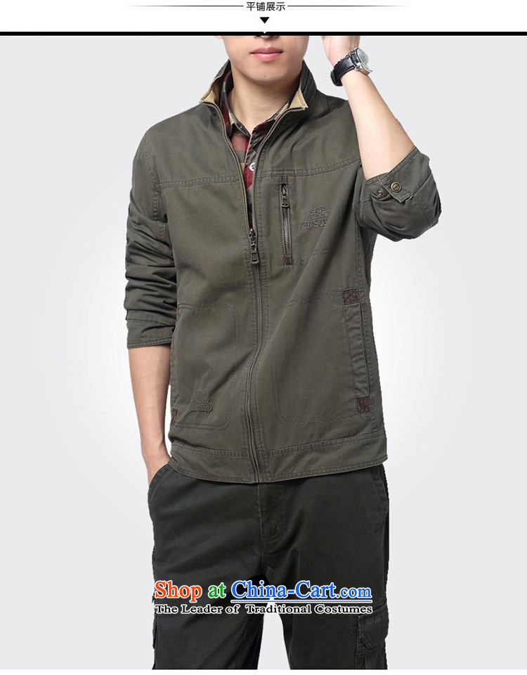 Jeep shield NIAN JEEP New Men pure cotton washed outdoor double-sided wear casual jacket coat 2015 Autumn D6808 male khaki M picture, prices, brand platters! The elections are supplied in the national character of distribution, so action, buy now enjoy more preferential! As soon as possible.