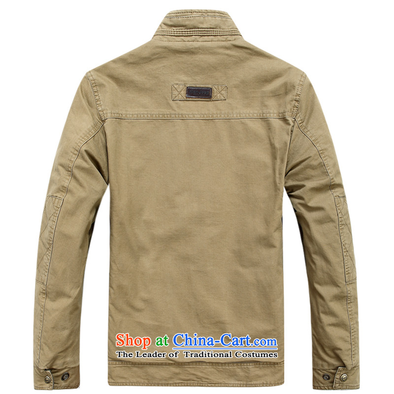Jeep shield NIAN JEEP New Men pure cotton washed outdoor double-sided wear casual jacket coat 2015 Autumn D6808 male- M, jeep shield shopping on the Internet has been pressed.