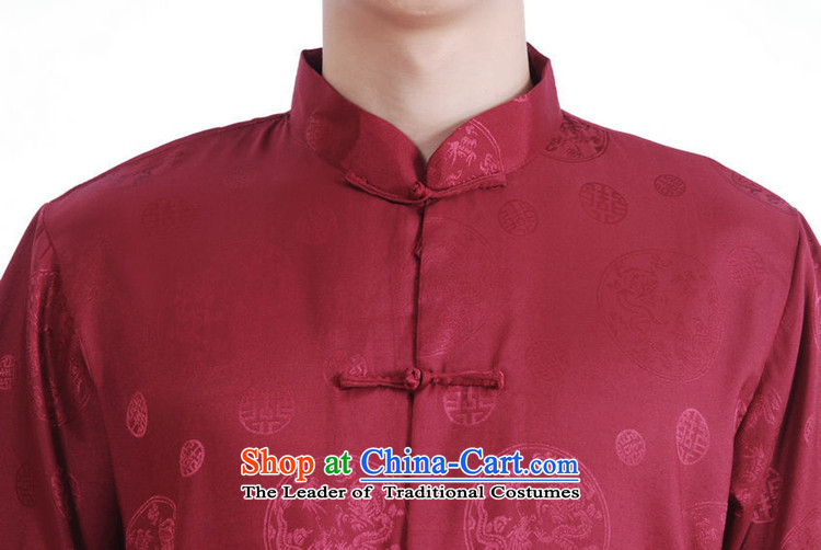 In accordance with the fuser for summer new men of nostalgia for the sheikhs Tang dynasty Classic shirt wind up my father Tang dynasty load detained short-sleeved T-shirt聽LGD/M2065#聽figure聽L picture, prices, brand platters! The elections are supplied in the national character of distribution, so action, buy now enjoy more preferential! As soon as possible.