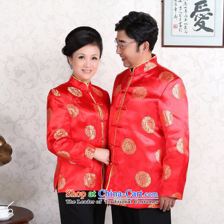 In accordance with the new fuser) Older Tang jackets mom and dad couples installed shou wedding services will聽LGD/MJ0001# -B Blue women M picture, prices, brand platters! The elections are supplied in the national character of distribution, so action, buy now enjoy more preferential! As soon as possible.