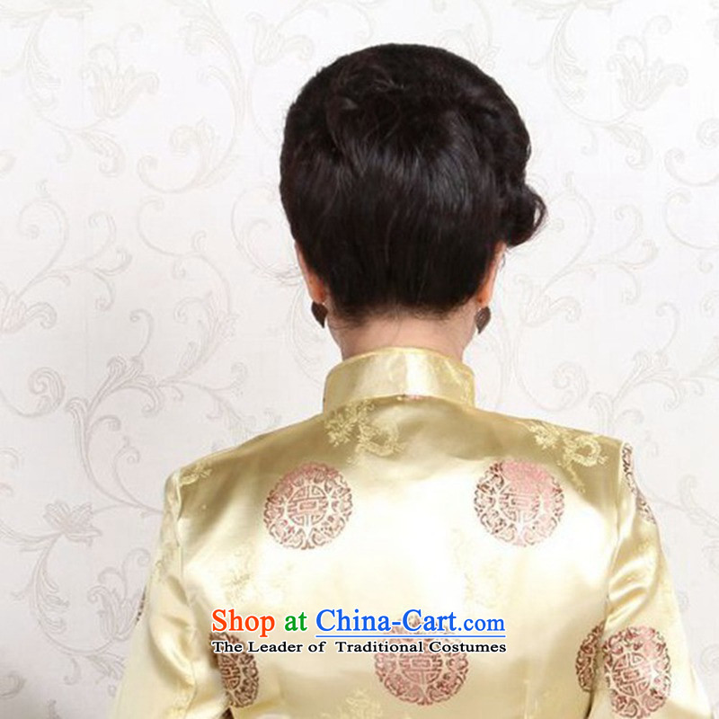 In accordance with the new fuser) Older Tang jackets mom and dad couples installed shou wedding services will聽LGD/MJ0001# -B Blue women in accordance with the fuser has been pressed, online shopping