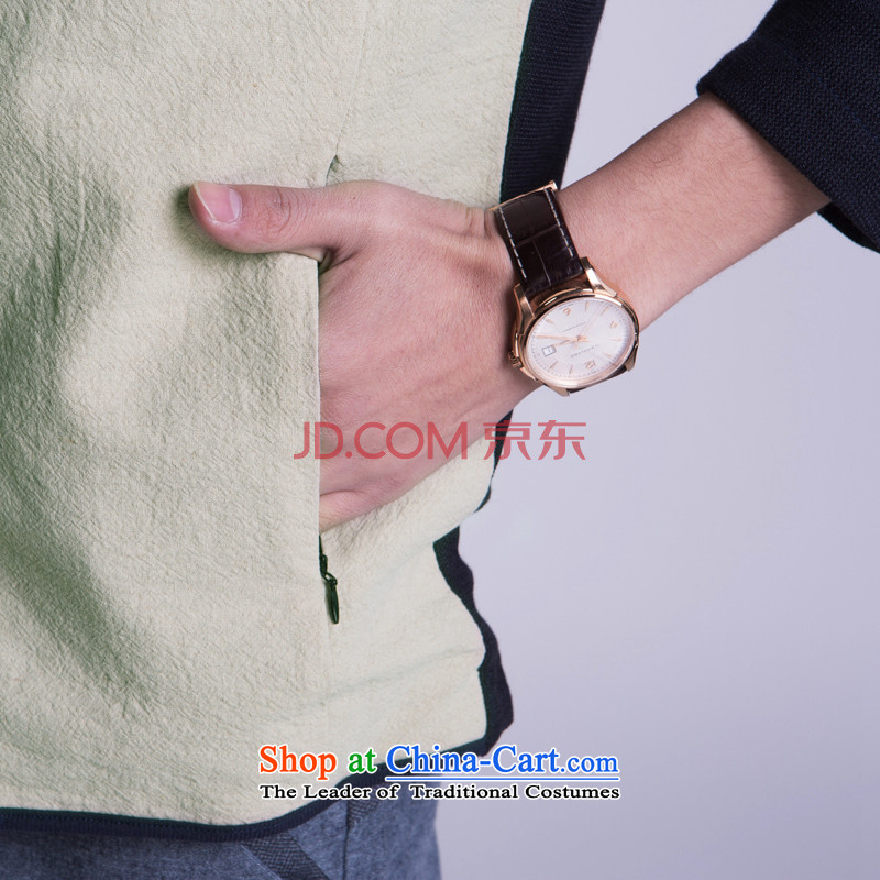 【 WOLFLAG Health 2015 spring of leisure as Korean fashion Sau San collar jacket Tang Jacket CardM(165),WOLFLAG AB-5320H+_ men and its shopping on the Internet has been pressed.