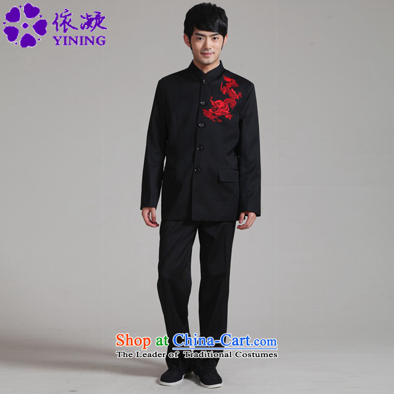 In accordance with the new fuser men daily improved Tang Dynasty Chinese tunic retro sheikhs wind Tang Dynasty Package costumes?WNS_2351 Kit _ -2_ L