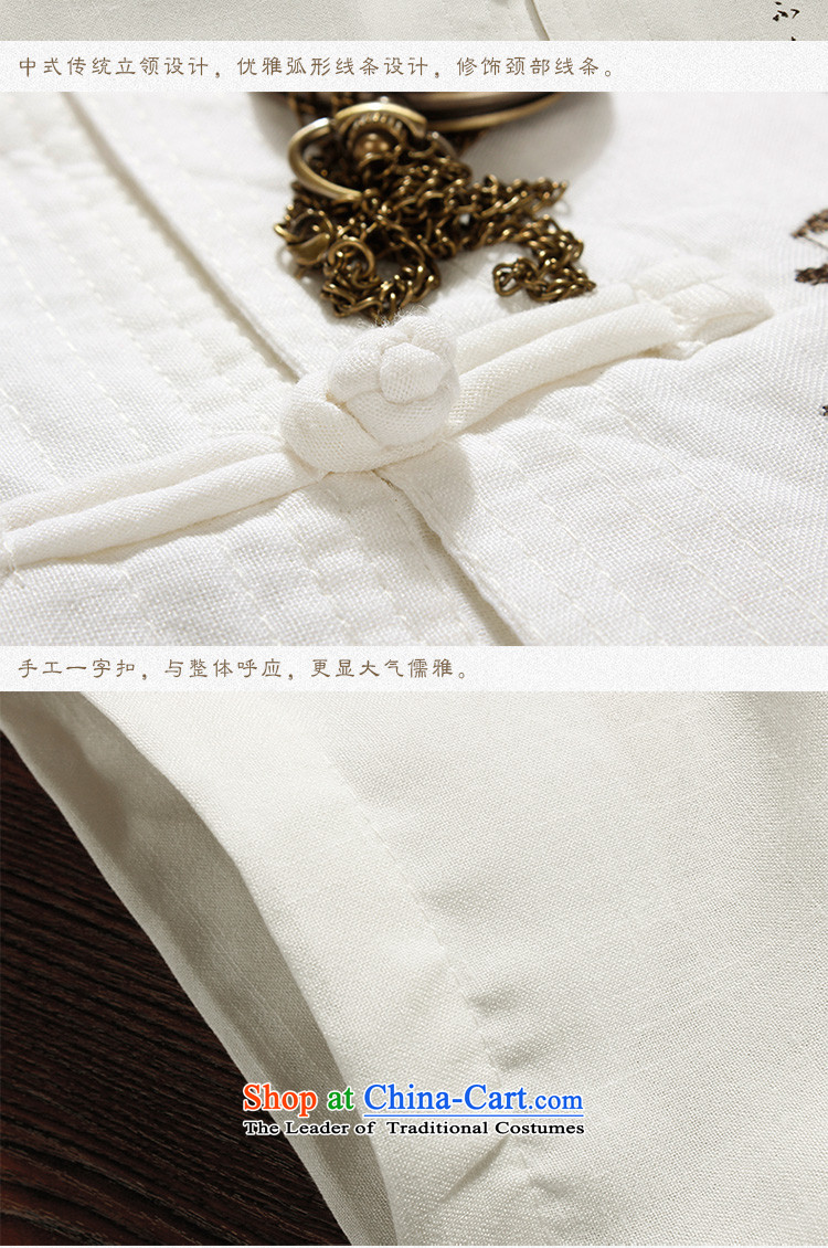 The Lhoba nationality Wei Mephidross Warranty Tang dynasty male short-sleeved summer Tang dynasty men of older persons and Tang dynasty China wind shirt men married white聽175 pictures, prices, brand platters! The elections are supplied in the national character of distribution, so action, buy now enjoy more preferential! As soon as possible.