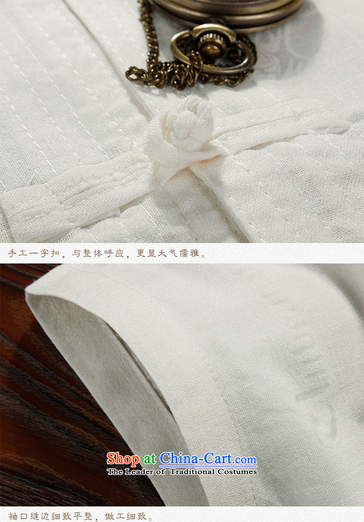 The Lhoba nationality Wei Mephidross Warranty China wind men Tang dynasty short-sleeved shirt leisure cotton linen men thin layer shirt father boxed genuine product beige聽170 pictures, prices, brand platters! The elections are supplied in the national character of distribution, so action, buy now enjoy more preferential! As soon as possible.
