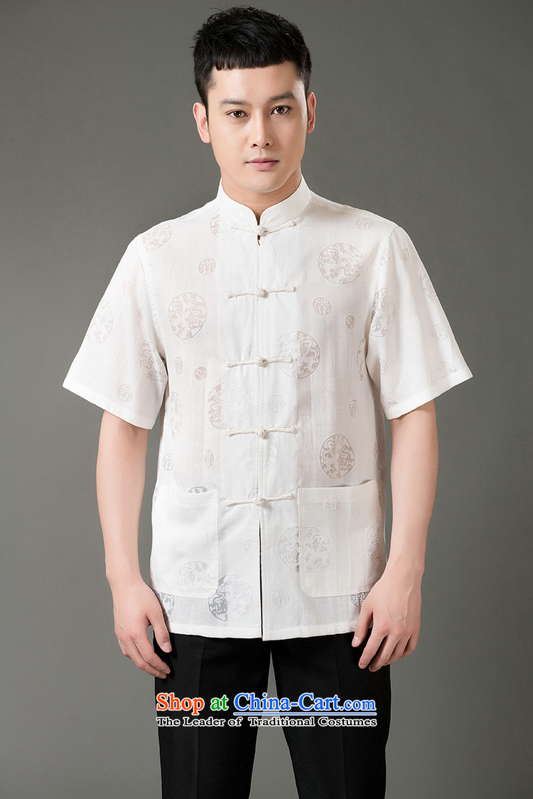 Boris poem federation short-sleeved Tang dynasty in Tang Dynasty elderly men by 2015 summer, emulation silk Tang blouses manually disc detained national costumes Chinese Tang dynasty collar beige XXL/180 picture, prices, brand platters! The elections are supplied in the national character of distribution, so action, buy now enjoy more preferential! As soon as possible.