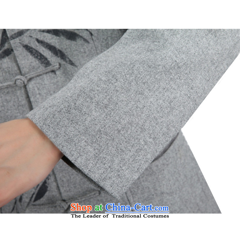 In accordance with the new fuser men of nostalgia for the improvement of the day-to-day Chinese tunic collar single row detained plants flower father replacing Tang jackets聽WNS/2355# -1# 3XL, gel to , , , shopping on the Internet