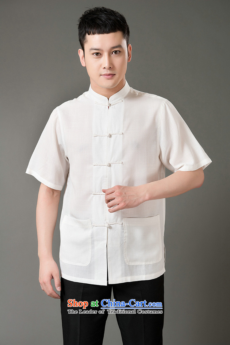 Boris poem federation short-sleeved Tang dynasty in Tang Dynasty elderly men by 2015 summer, emulation silk Tang blouses manually disc detained national costumes Chinese Tang dynasty collar beige XL/175 picture, prices, brand platters! The elections are supplied in the national character of distribution, so action, buy now enjoy more preferential! As soon as possible.