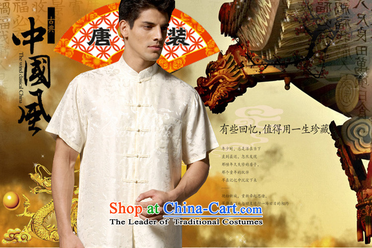 Boris poem federation short-sleeved Tang dynasty in Tang Dynasty elderly men by 2015 summer, emulation silk Tang blouses manually disc detained national costumes Chinese Tang dynasty collar green XXXXL/190 picture, prices, brand platters! The elections are supplied in the national character of distribution, so action, buy now enjoy more preferential! As soon as possible.