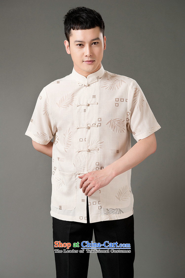Boris poem federation short-sleeved Tang dynasty in Tang Dynasty elderly men聽by 2015 summer, emulation silk Tang blouses manually disc detained national costumes Chinese Tang dynasty white collar聽M/165 picture, prices, brand platters! The elections are supplied in the national character of distribution, so action, buy now enjoy more preferential! As soon as possible.