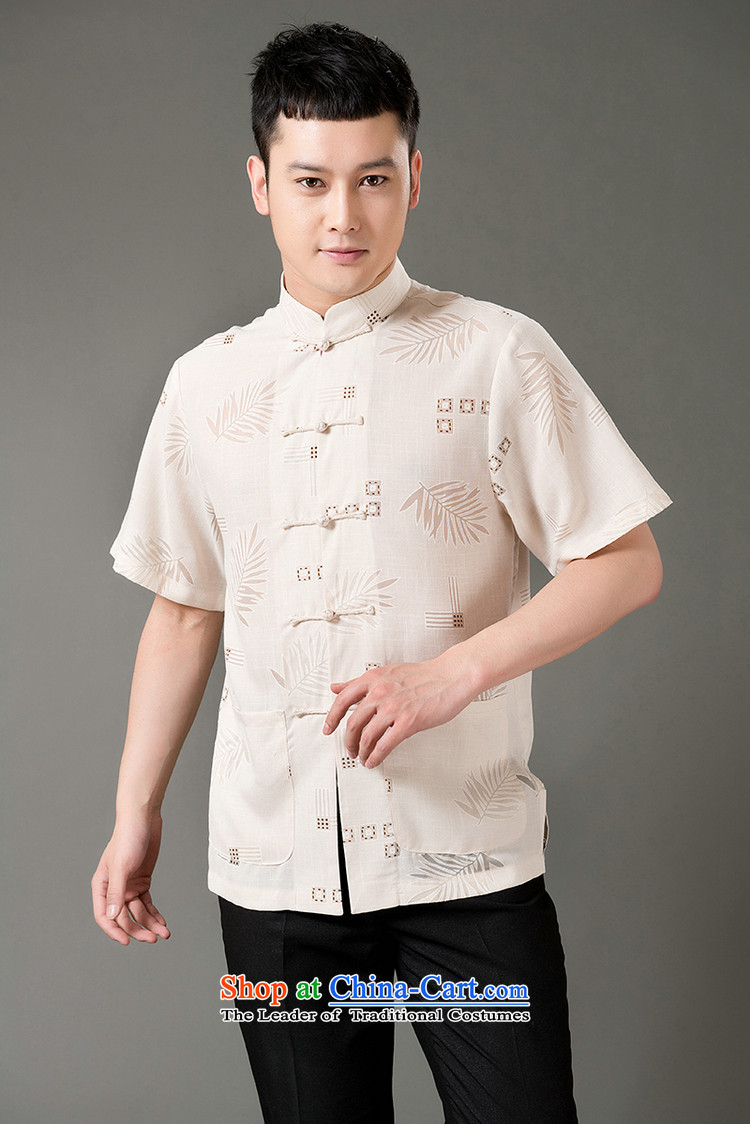 Boris poem federation short-sleeved Tang dynasty in Tang Dynasty elderly men by 2015 summer, emulation silk Tang blouses manually disc detained national costumes Chinese Tang dynasty white collar M/165 picture, prices, brand platters! The elections are supplied in the national character of distribution, so action, buy now enjoy more preferential! As soon as possible.