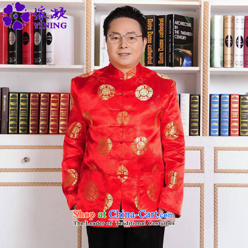 In accordance with the new fuser men of ethnic Tang dynasty straight up a field-installed father Tang jackets made wedding garment聽WNS_2386_ -1_ 3XL Performance