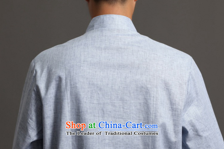 In accordance with the new fuser men retro sheikhs wind Tang dynasty collar ethnic Han-Tang Dynasty Chinese tunic costumes聽WNS/2512# -2# L picture, prices, brand platters! The elections are supplied in the national character of distribution, so action, buy now enjoy more preferential! As soon as possible.