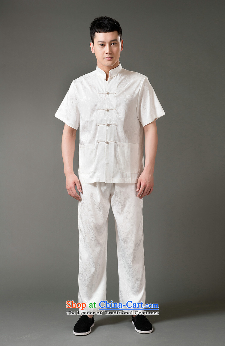 Boris poem federation short-sleeved Tang Dynasty Package for men and elderly men Tang dynasty聽2015 Summer) Emulation silk Tang hand-held national costumes Chinese Tang dynasty collar聽XXL/180 black picture, prices, brand platters! The elections are supplied in the national character of distribution, so action, buy now enjoy more preferential! As soon as possible.