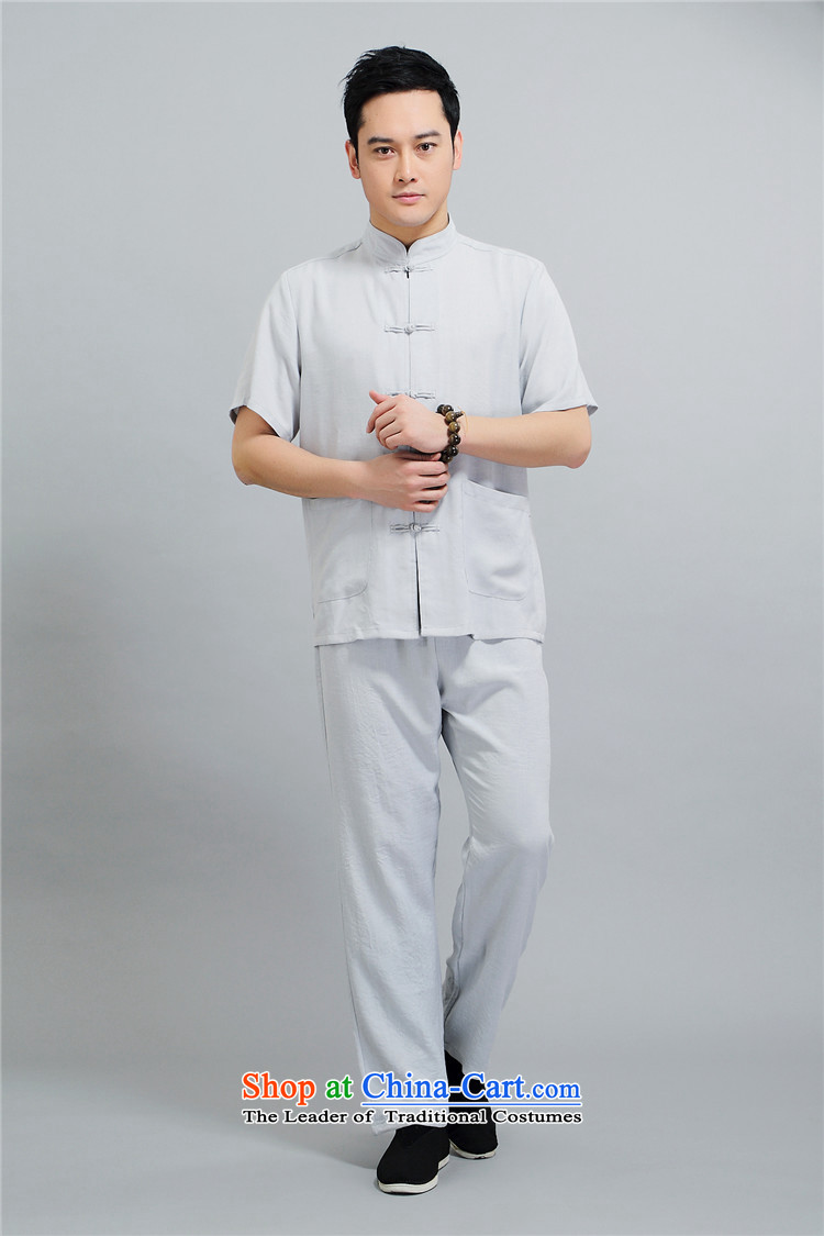 Kanaguri mouse spring China wind men Tang dynasty long-sleeved kit of older persons in the summer spring Chinese men kit beige聽XXL picture, prices, brand platters! The elections are supplied in the national character of distribution, so action, buy now enjoy more preferential! As soon as possible.