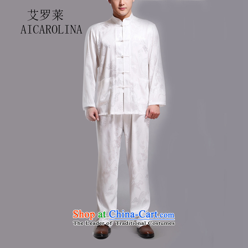 In the summer of HIV Rollet Tang dynasty older men and short-sleeve kit short-sleeved white?XXXXL