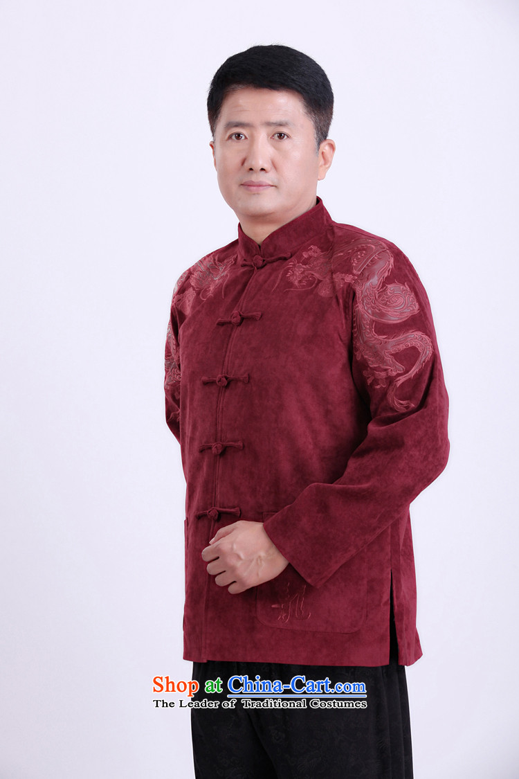 Mr Tang Dynasty poem federation male long-sleeved聽2015 New China wind spring and autumn in consultations over the life of older birthday wearing Chinese father jackets blue聽180 pictures, prices, brand platters! The elections are supplied in the national character of distribution, so action, buy now enjoy more preferential! As soon as possible.