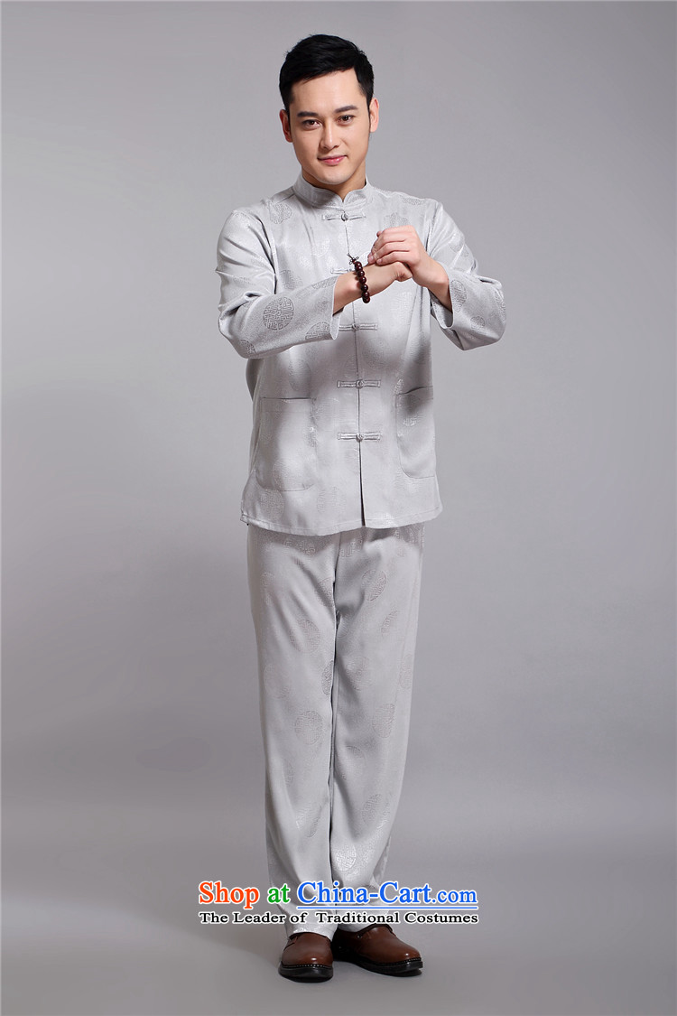 Kanaguri Mouse Tang dynasty and the spring and summer new long-sleeved jacket in Chinese father dress older men Tang Dynasty Package chestnut horses聽XL Photo, prices, brand platters! The elections are supplied in the national character of distribution, so action, buy now enjoy more preferential! As soon as possible.